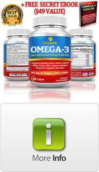 Simplalite fish oil omega 3 60 capsules comes with for Fish oil capsules side effects